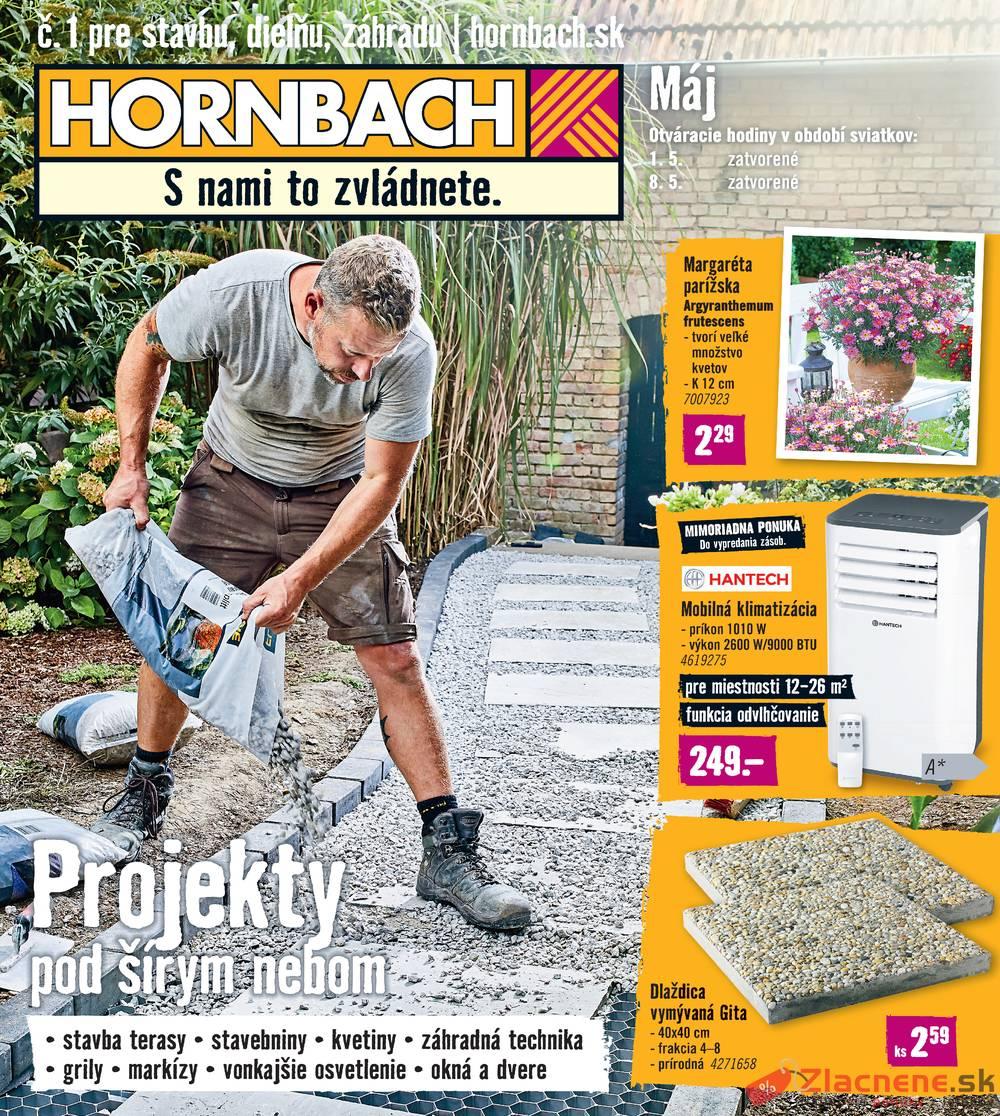 Leták Hornbach - Hornbach 1.5. - 28.5. - strana 1