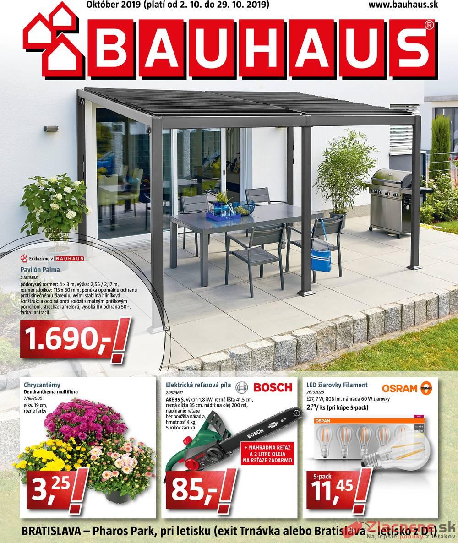 Leták Bauhaus - Bauhaus od 2.10. do 29.10.2019 - strana 1