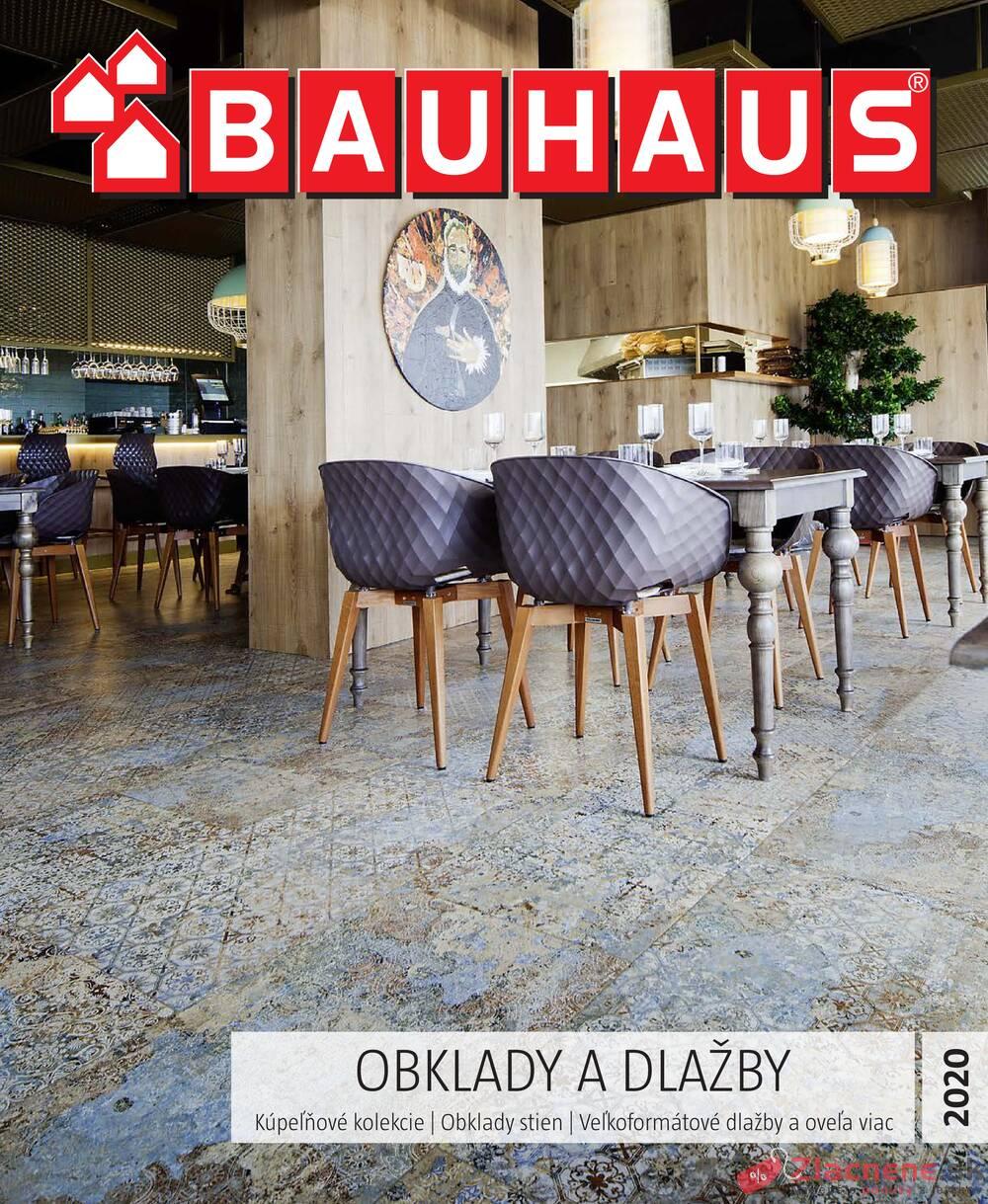 Leták Bauhaus - Bauhaus Obklady a dlažby 3.2. - 30.6. - strana 1