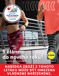 Leták Lidl Fitness do 28.3.