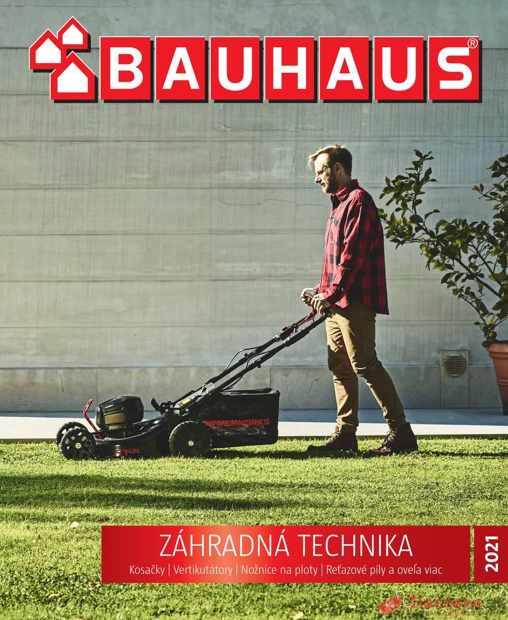 Leták Bauhaus - Bauhaus Zahradná technika 31.8. - strana 1