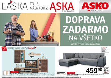 leták ASKO - NÁBYTOK