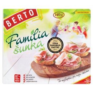 Berto Família šunka 140 g
