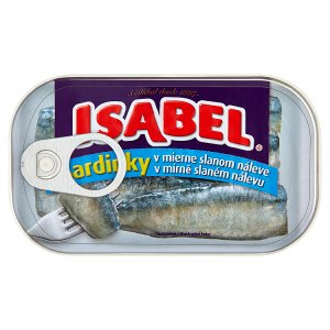 Isabel Sardinky 125 g