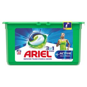 Ariel Pracie Kapsuly 32 praní