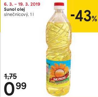 SUNOL OLEJ, 1 L
