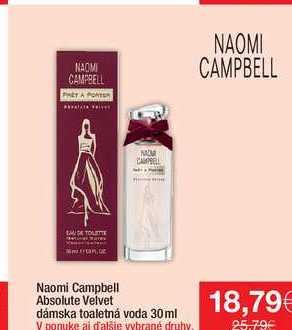Naomi Campbell dámska toaletná voda 30 ml