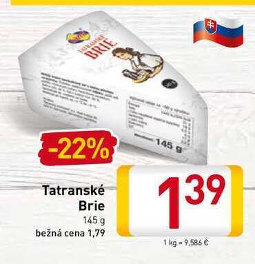 Tatranské Brie 145 g